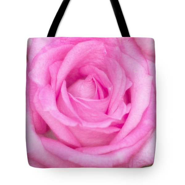 Tote Bag featuring the photograph Pink Surprise by Joan Bertucci