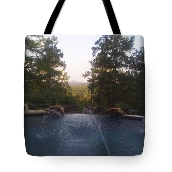 Pinnacle Mountain Tote Bag