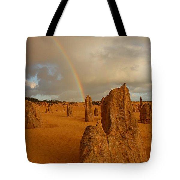 Pinnacle Rainbow Tote Bag