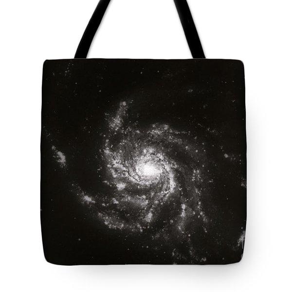 Pinwheel Galaxy, M101 Tote Bag by Science Source