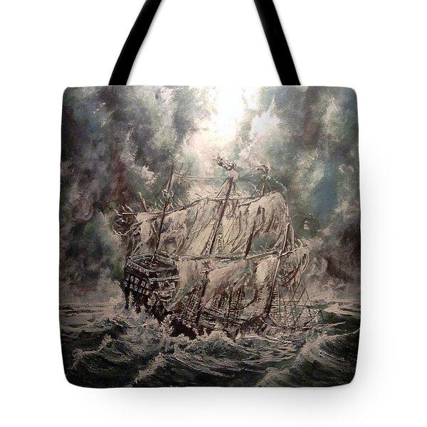 Pirate Islands 2 Tote Bag by Robert Tarrant