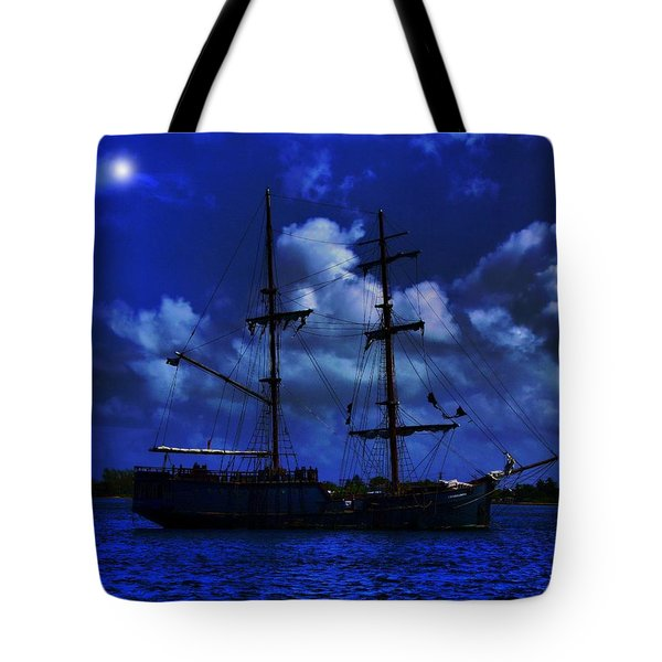 Pirate's Blue Sea Tote Bag
