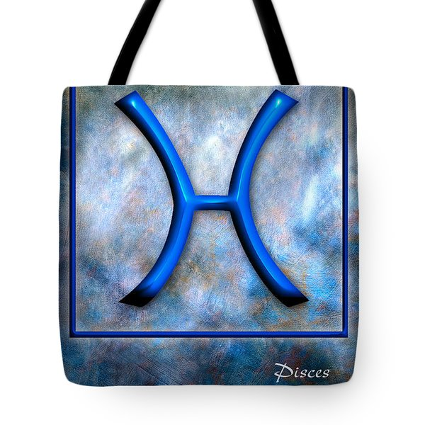 Pisces  Tote Bag by Mauro Celotti