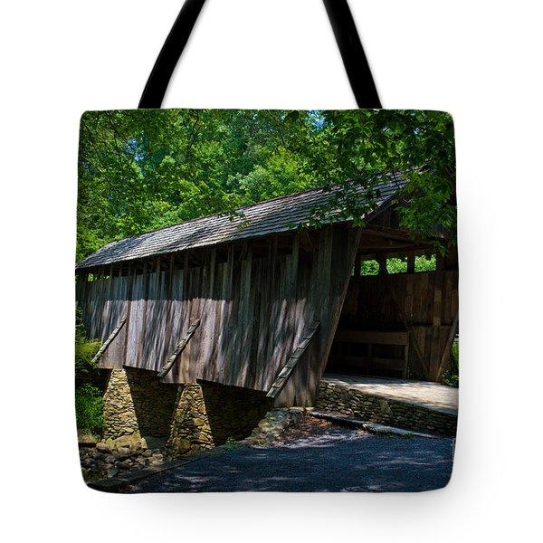 Pisgah Covered Bridge Tote Bag
