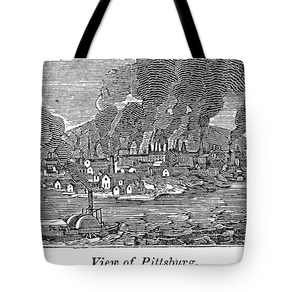 Pittsburgh, 1836 Tote Bag by Granger