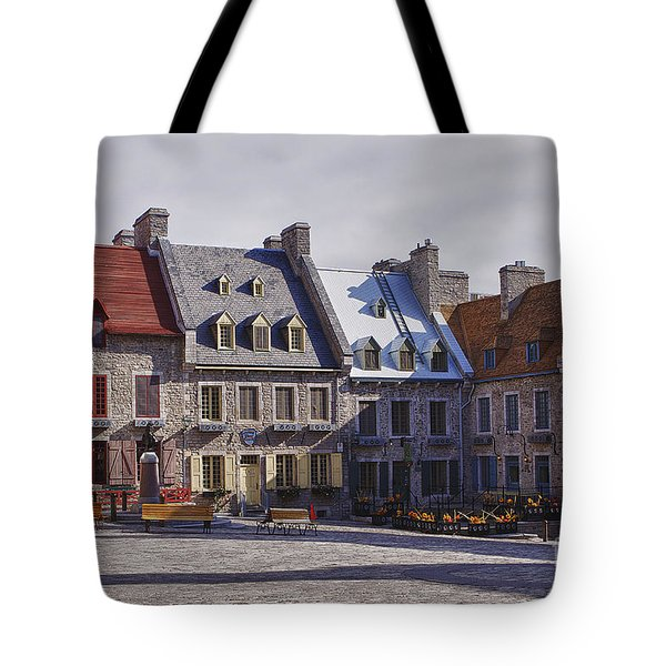 Place Royale Tote Bag by Eunice Gibb