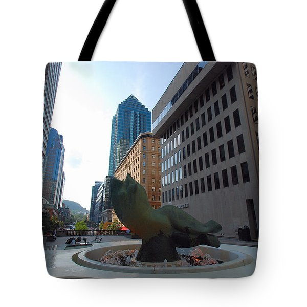 Tote Bag featuring the photograph Place Ville Marie by John Schneider