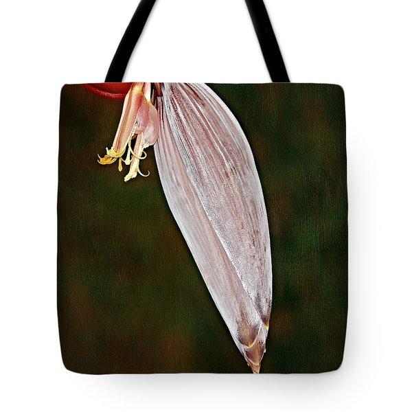 Plantain Bloom Tote Bag by Susan Candelario