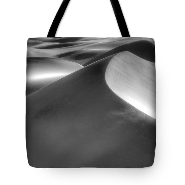 Platinum Dunes Tote Bag by Bob Christopher