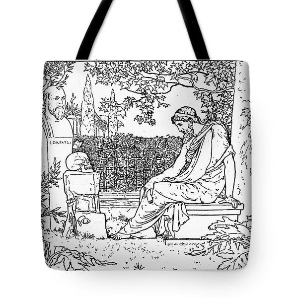 Plato (c427-c347 B.c.) Tote Bag by Granger
