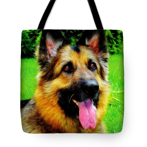Play With Me Tote Bag by Mariola Bitner