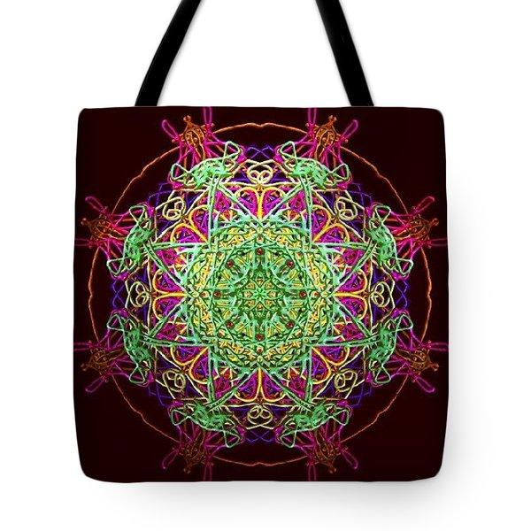 Playing Mandala Tote Bag