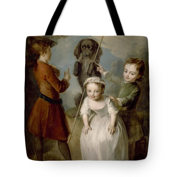 Playing Soldier Tote Bag by Philippe Mercier