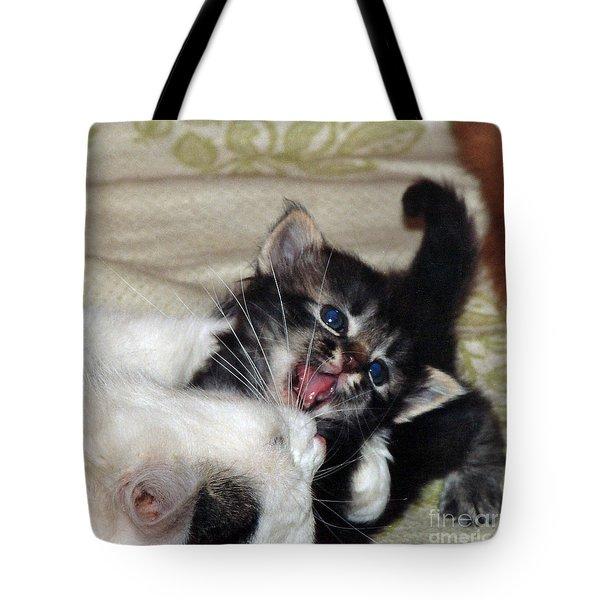 Playtime Tote Bag by Ausra Huntington nee Paulauskaite
