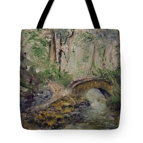 Pleasant Stroll Tote Bag