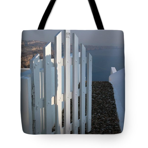 Tote Bag featuring the photograph Please Come In by Vivian Christopher