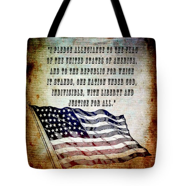 Pledge Tote Bag by Angelina Vick
