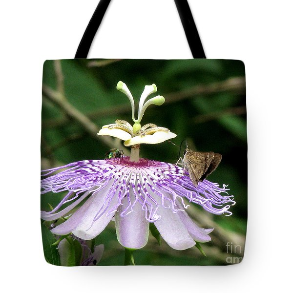 Tote Bag featuring the photograph Plenty For All by Donna Brown