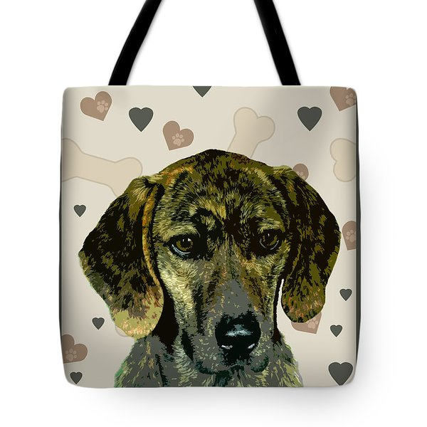Plott Tote Bag by One Rude Dawg Orcutt