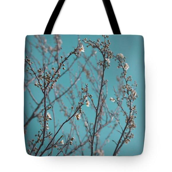 Plum Blossoms Tote Bag