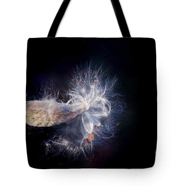 Tote Bag featuring the photograph Pod In The Wind by Deniece Platt