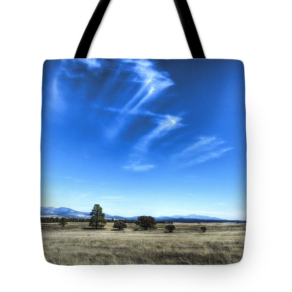 Point Of Pines - San Carlos Indian Reservation Tote Bag