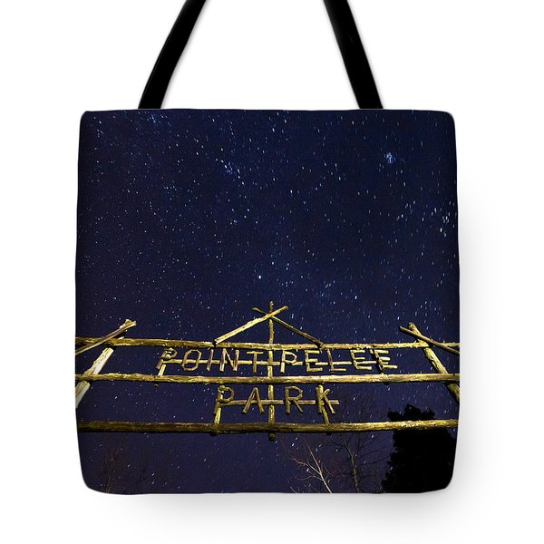 Point Pelee Under The Stars Tote Bag by Cale Best