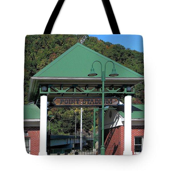 Point Stadium - Johnstown Pa Tote Bag