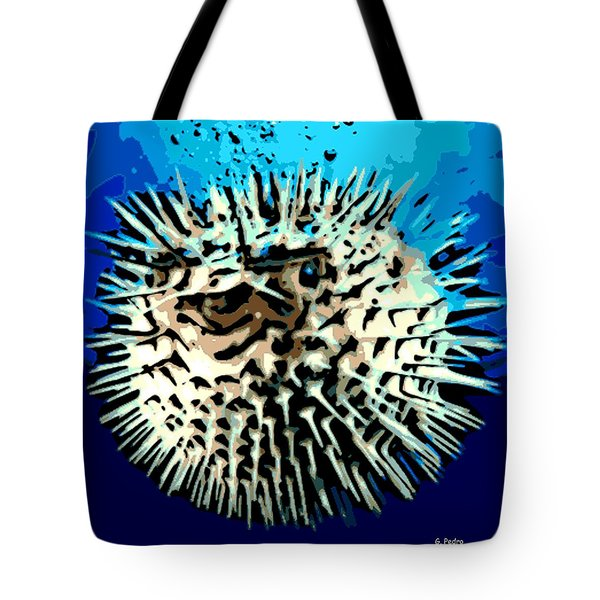 Pointed Opinion Tote Bag by George Pedro