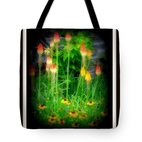 Poker Tote Bag by Priscilla Richardson