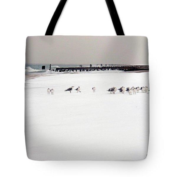 Polar Bird Club Tote Bag