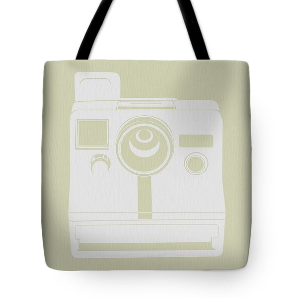 Polaroid Camera 3 Tote Bag by Naxart Studio