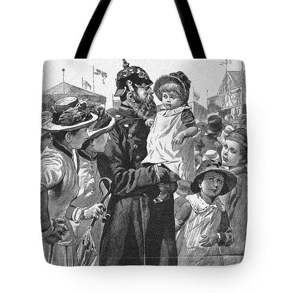 Policeman, 1885 Tote Bag by Granger