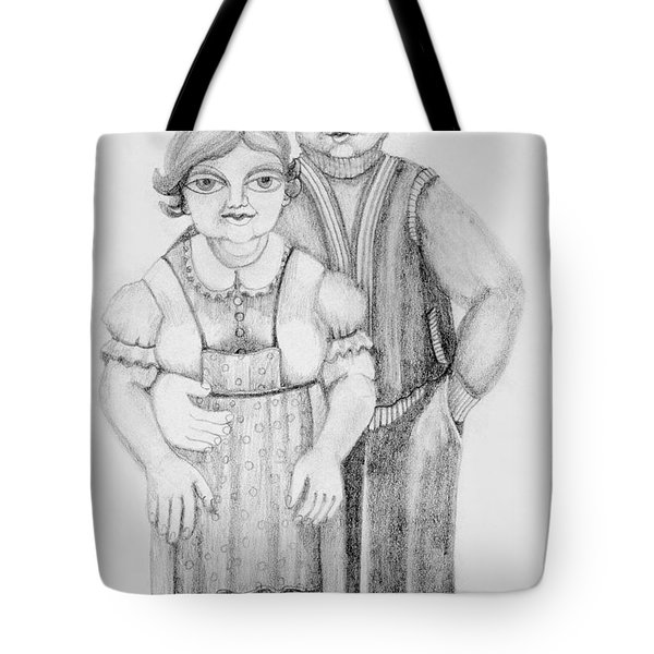 Polish Couple Tote Bag by Rachel Hershkovitz