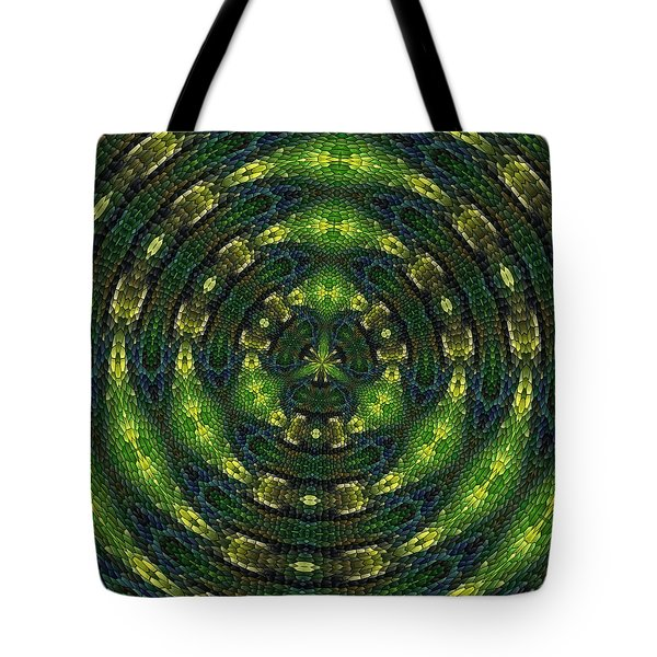 Tote Bag featuring the digital art Pond Perfect by Alec Drake