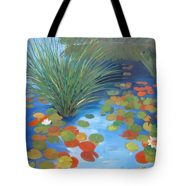 Pond Revisited Tote Bag