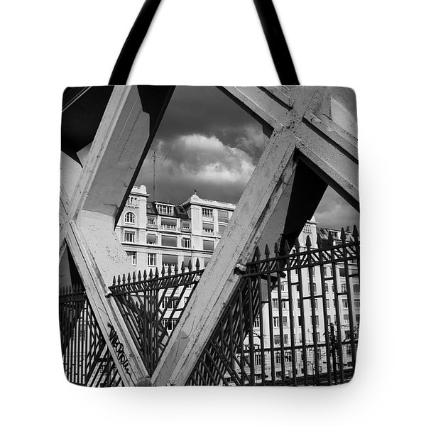 Pont Lafayette Paris Tote Bag by Andrew Fare