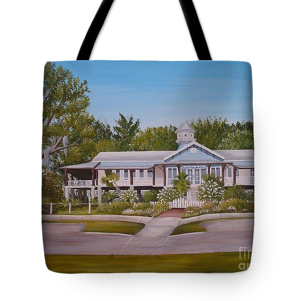 Pontchartrain Yacht Club Tote Bag