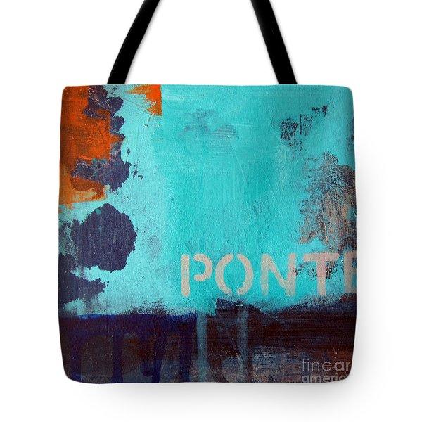 Ponte Tote Bag by Linda Woods