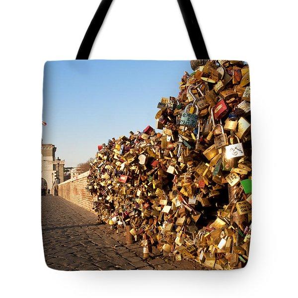 Ponte Milvio Tote Bag by Fabrizio Troiani