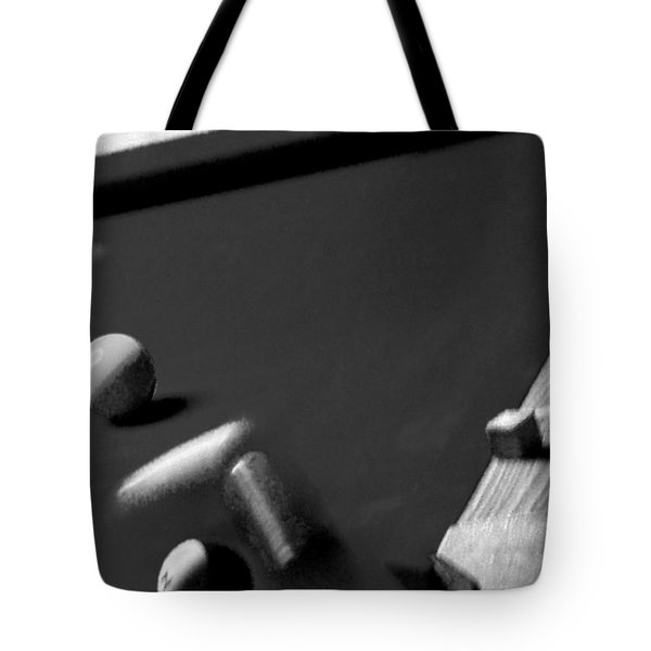 Pool Balls Tote Bag by Chris Berry
