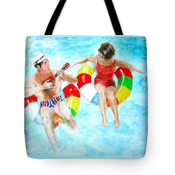 Pool Tote Bag by Beth Saffer