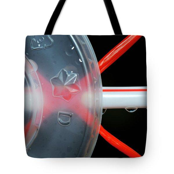Pop Lid Art Tote Bag by Lisa Knechtel