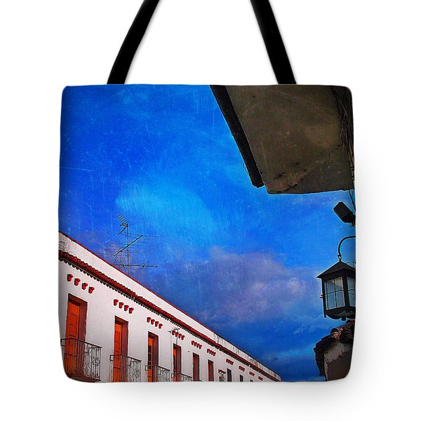 Popayan Tote Bag by Skip Hunt