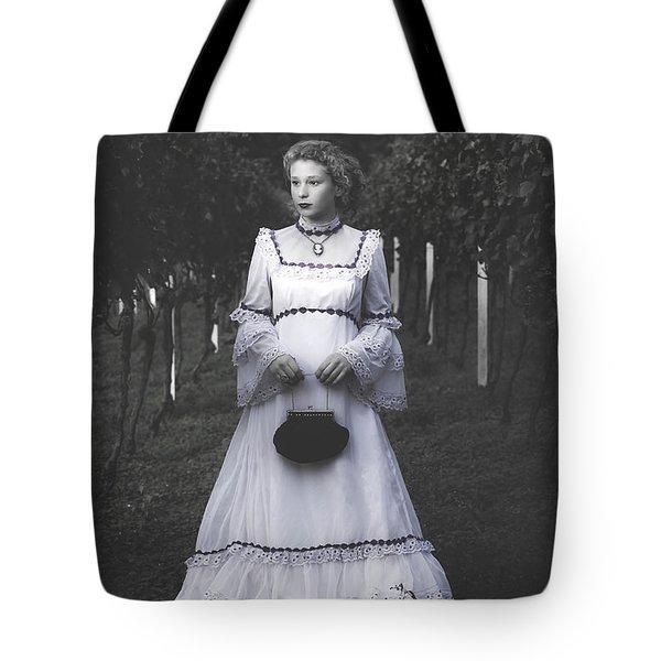 Porcelain Doll Tote Bag by Joana Kruse