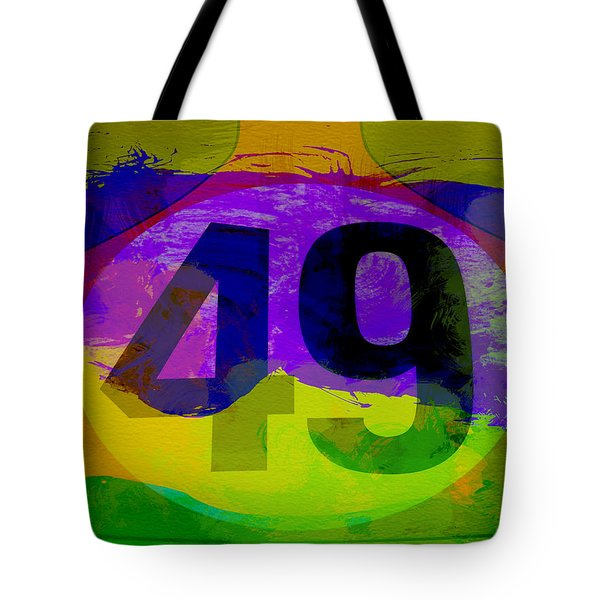 Porsche 911 Number 49 Tote Bag