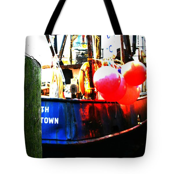 Tote Bag featuring the photograph Port Of Galilee Number 1 by Lon Casler Bixby