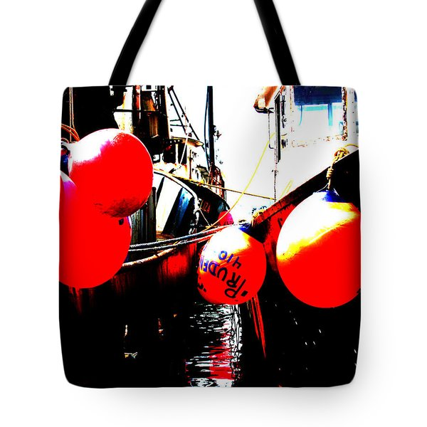Tote Bag featuring the photograph Port Of Galilee Number 2 by Lon Casler Bixby