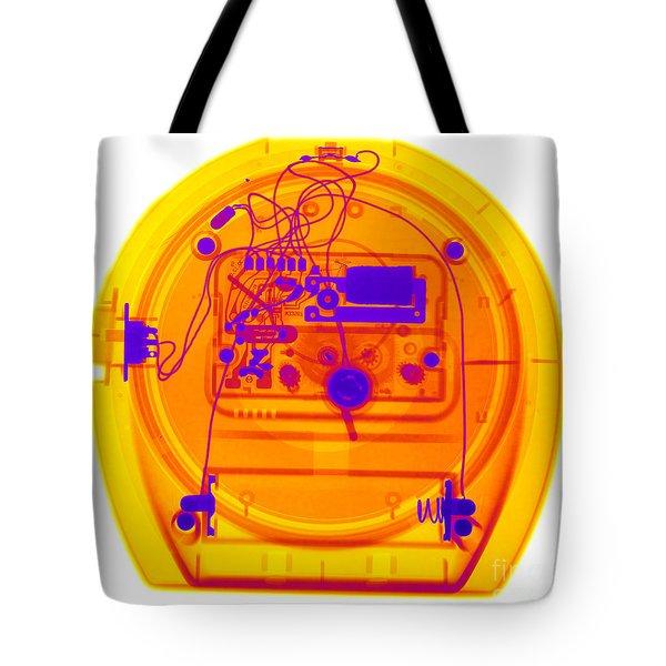 Portable Clock Tote Bag by Ted Kinsman