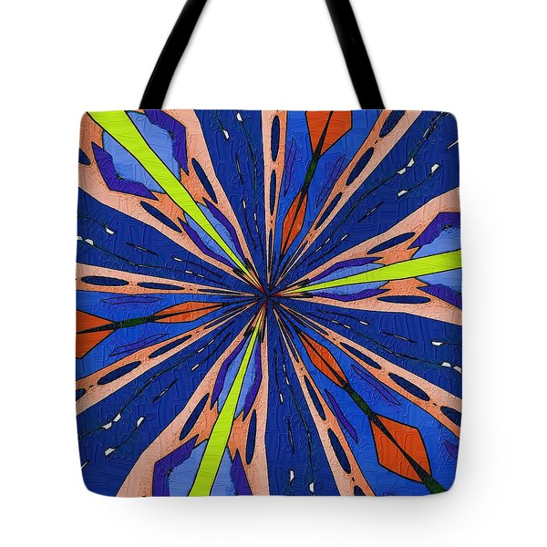 Tote Bag featuring the digital art Portal To The Past by Alec Drake